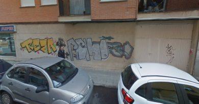 grafitis barrio prosperidad salamanca