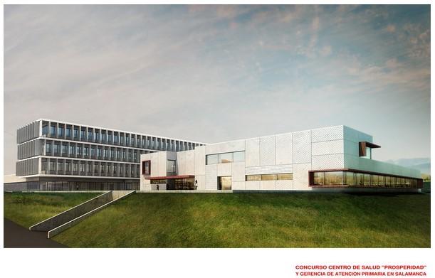 """Centro de salud """"Prosperidad"""" y gerencia de atención primaria Salamanca"""