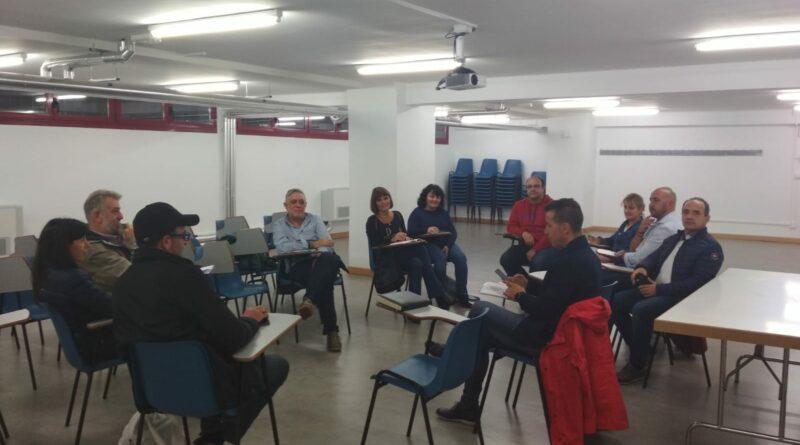 Reunión con los concejales del Ayuntamiento de Salamanca