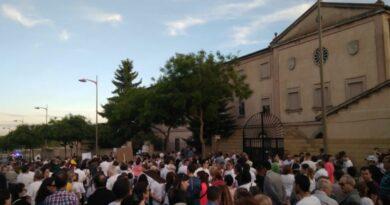 manifestación asociación la aldehuela