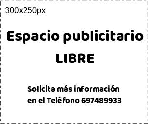 Espacio publicitario LIBRE Asociación La Aldehuela Salamanca